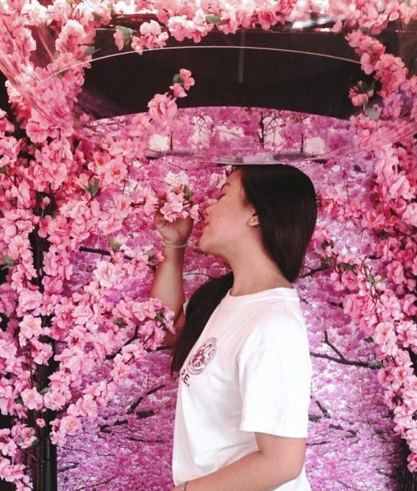 unilever-clear-sakura-fresh-scent-domes-experiential-marketing