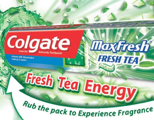 Colgate Toothpaste Scented Shopper Dockets