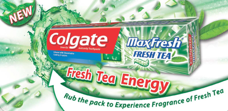 Colgate Scented Shopper Dockets