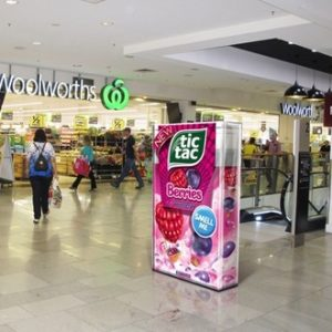 tic tac box out of home scent panel experiential marketing