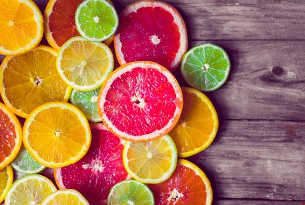 Image of sliced citrus
