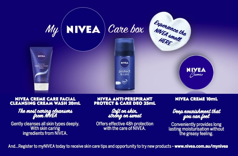 Nivea-scented-card