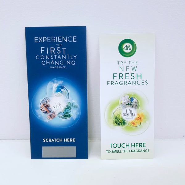 Air Wick Life Scents scented cards