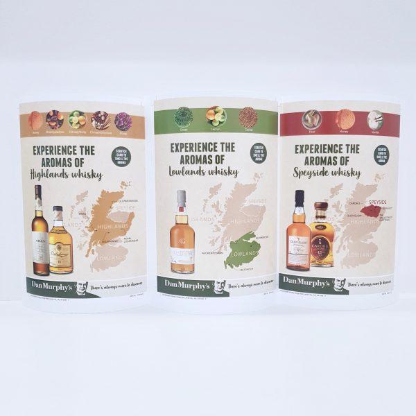 Dan Murphy's Whiskey in-store brochures