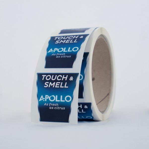 Axe Apollo scented sticker roll
