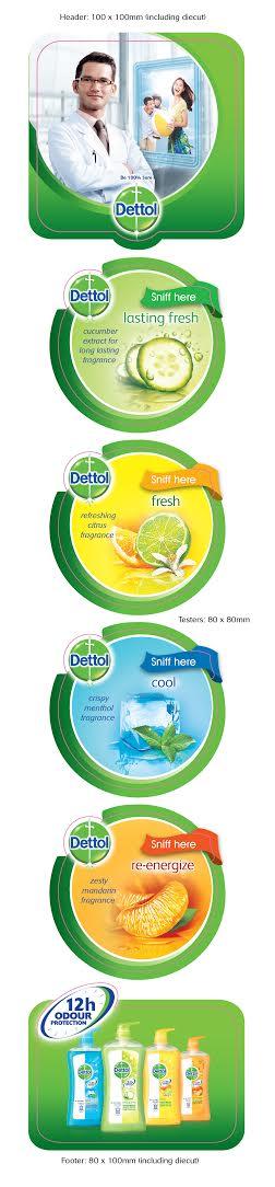 Dettol hang sell – various