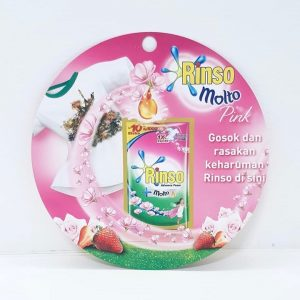 Molto Rinso scented hang sell