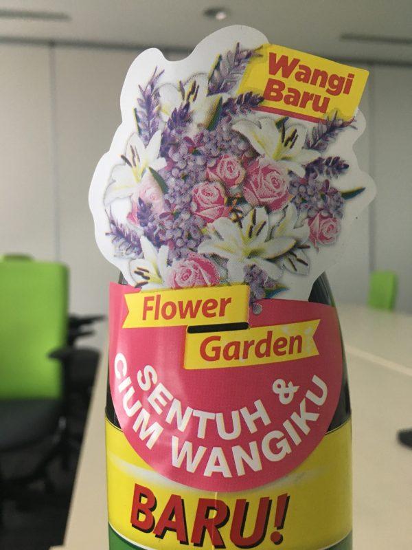 scented sticker